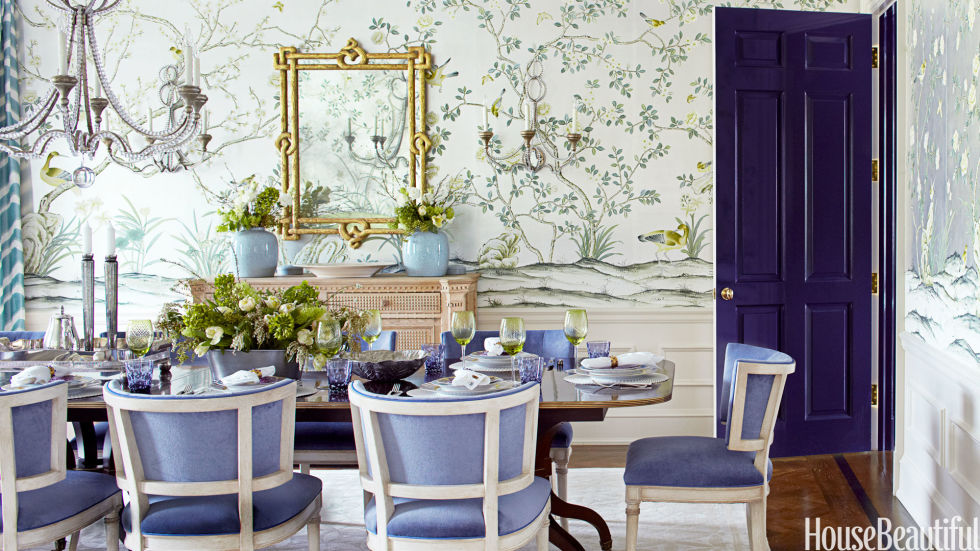 purple dining room chairs - chic purple dining room with lilac