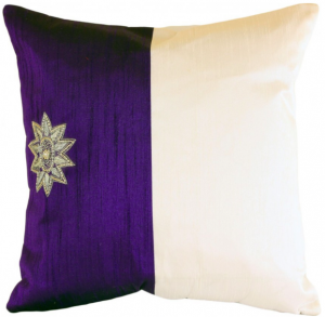 Modern Two Tone Accent Pillow Cover, Set of 2
