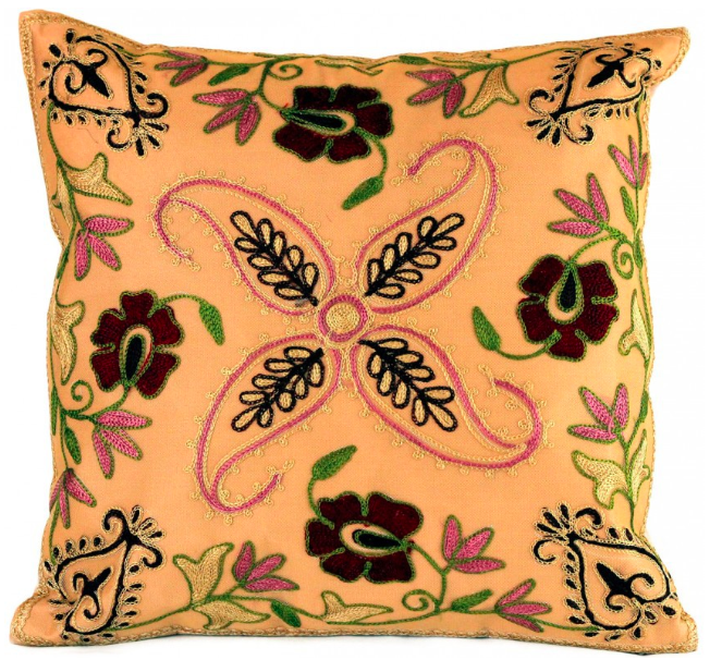 spring floral pillow cover