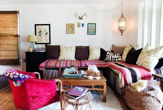 5 Ways To Add Bohemian Flair To Your Living Room