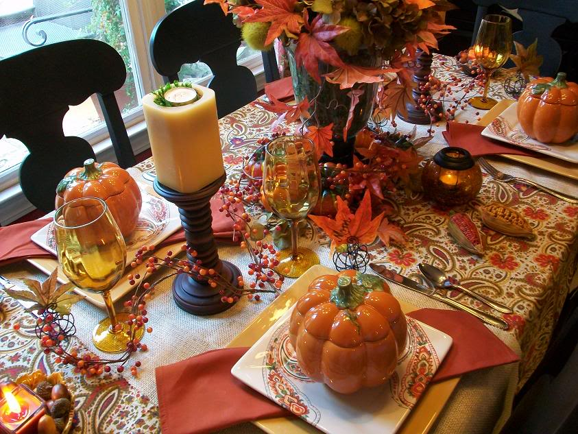 5 fall tablescapes to try now