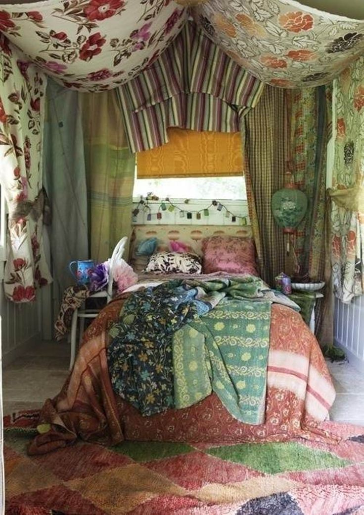 Boho chic for your bedroom - How to decorate a bohemian bedroom ...