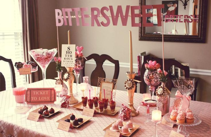 Your perfect valentine 39 s day dinner for Valentine dinner party ideas