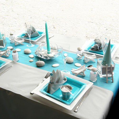 Weddings archives banarsi designs blog for Decoration de table bleu turquoise