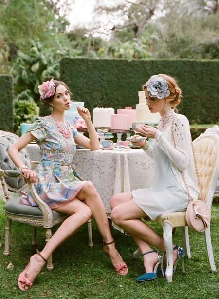 How To Throw A Vintage Tea Party