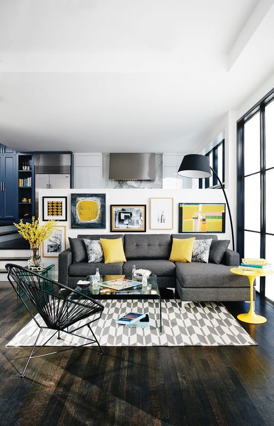 Yellow Living Room: How To Style Citrus Tones In Your Home
