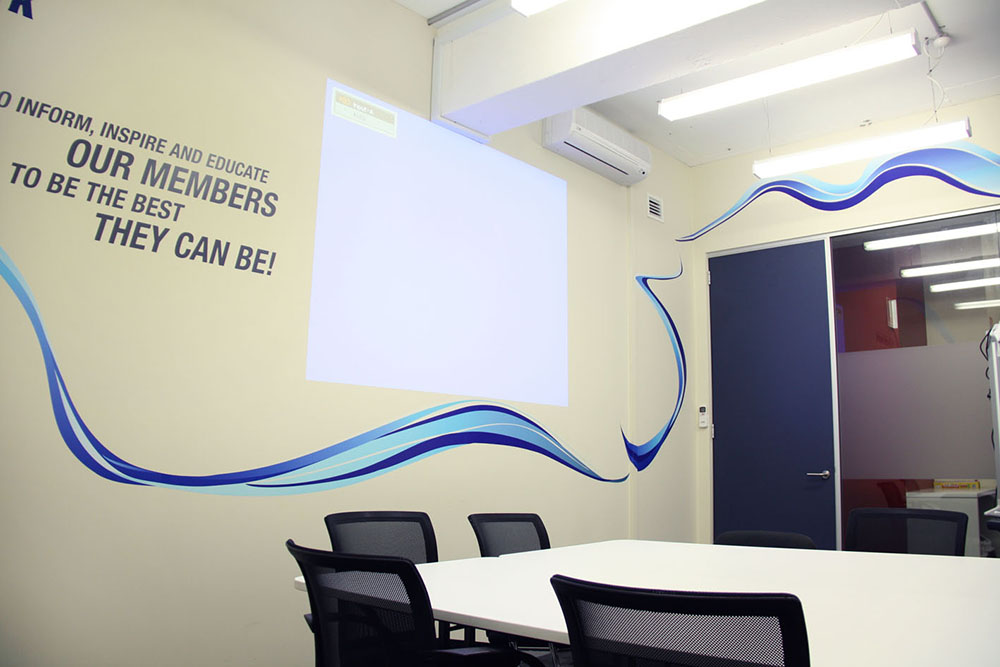 5 ways to make your office boardroom less boring for Office branding ideas