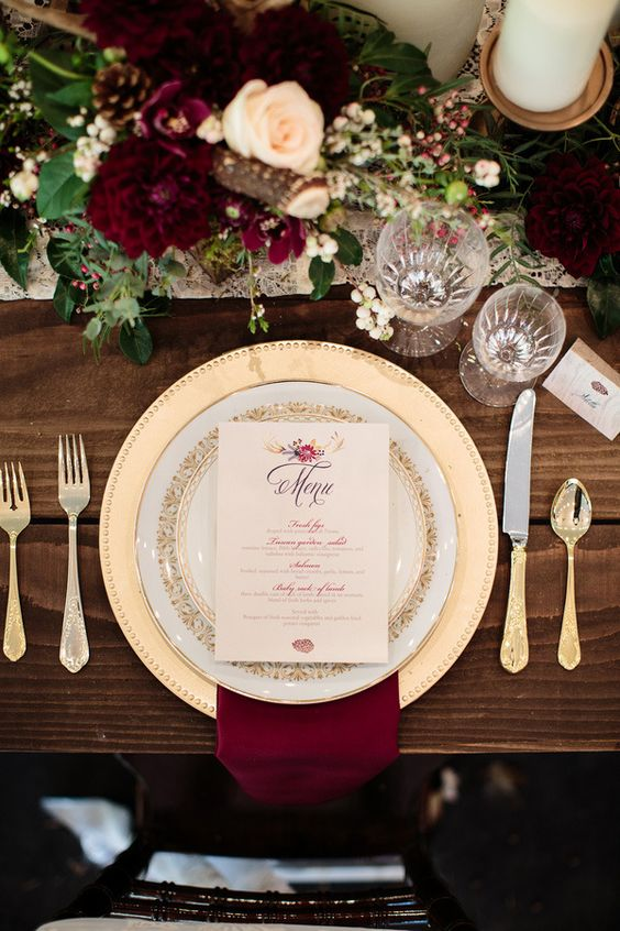 burgundy-cream-and-gold-wedding