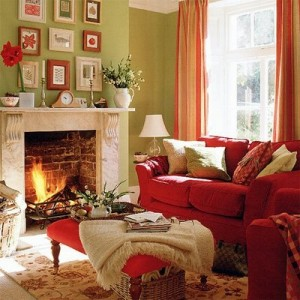 cozy homes that are perfect for Fall