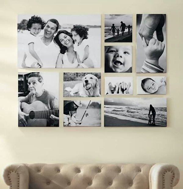 romantic-family-photo-wall-decor