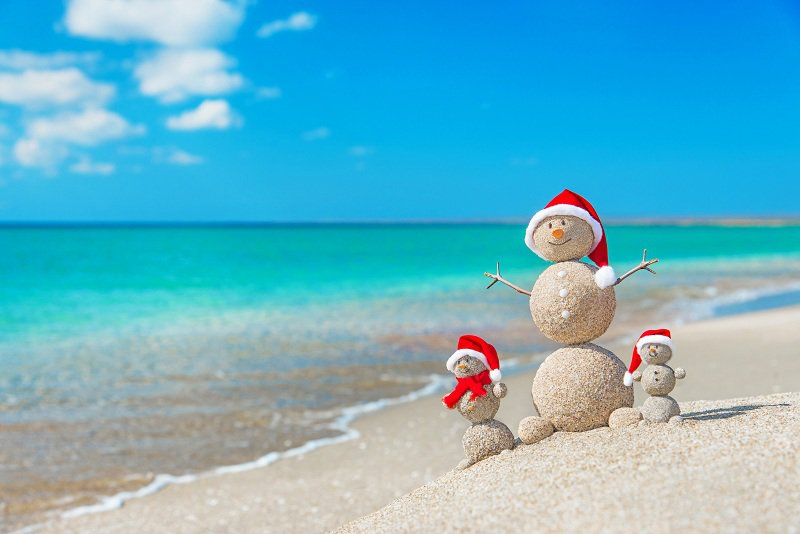 How to Celebrate a Warm Weather Christmas images