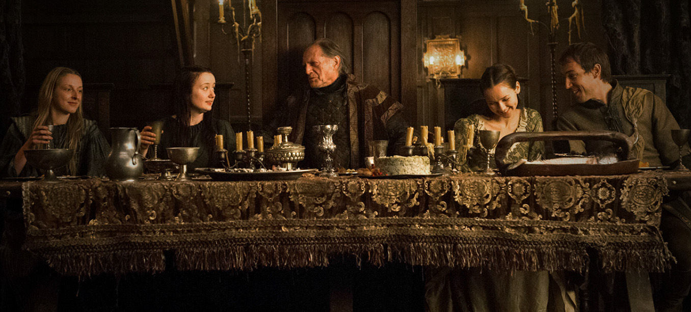 game of thrones winter dinner party