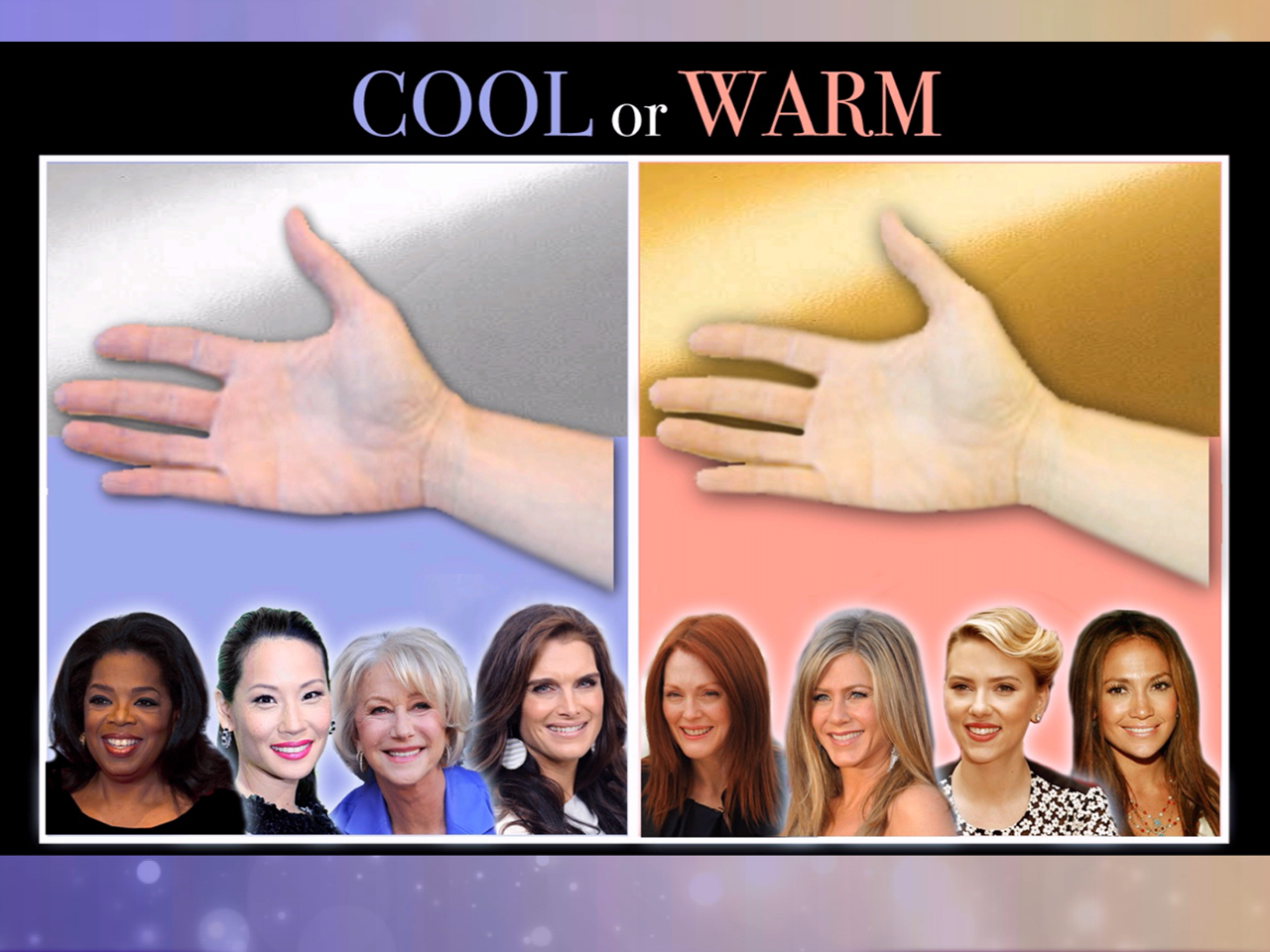 How to choose the right color for your skin tone how to determine if you have a warm or cool skin tone nvjuhfo Image collections