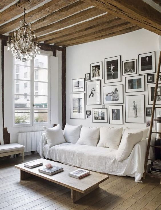 loft apartment gallery wall
