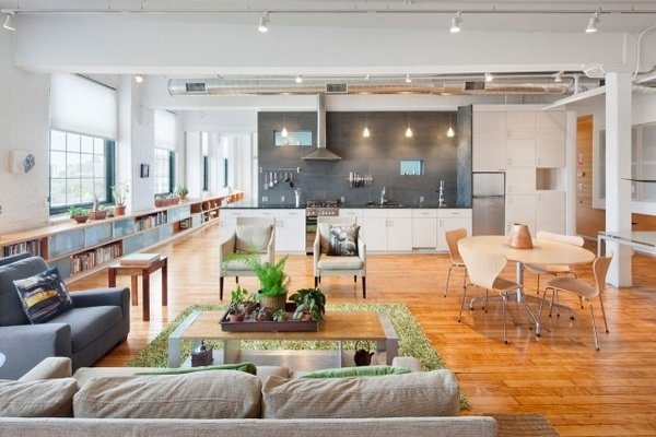 Decorating a loft apartment what you need to know for Open floor plan homes with loft
