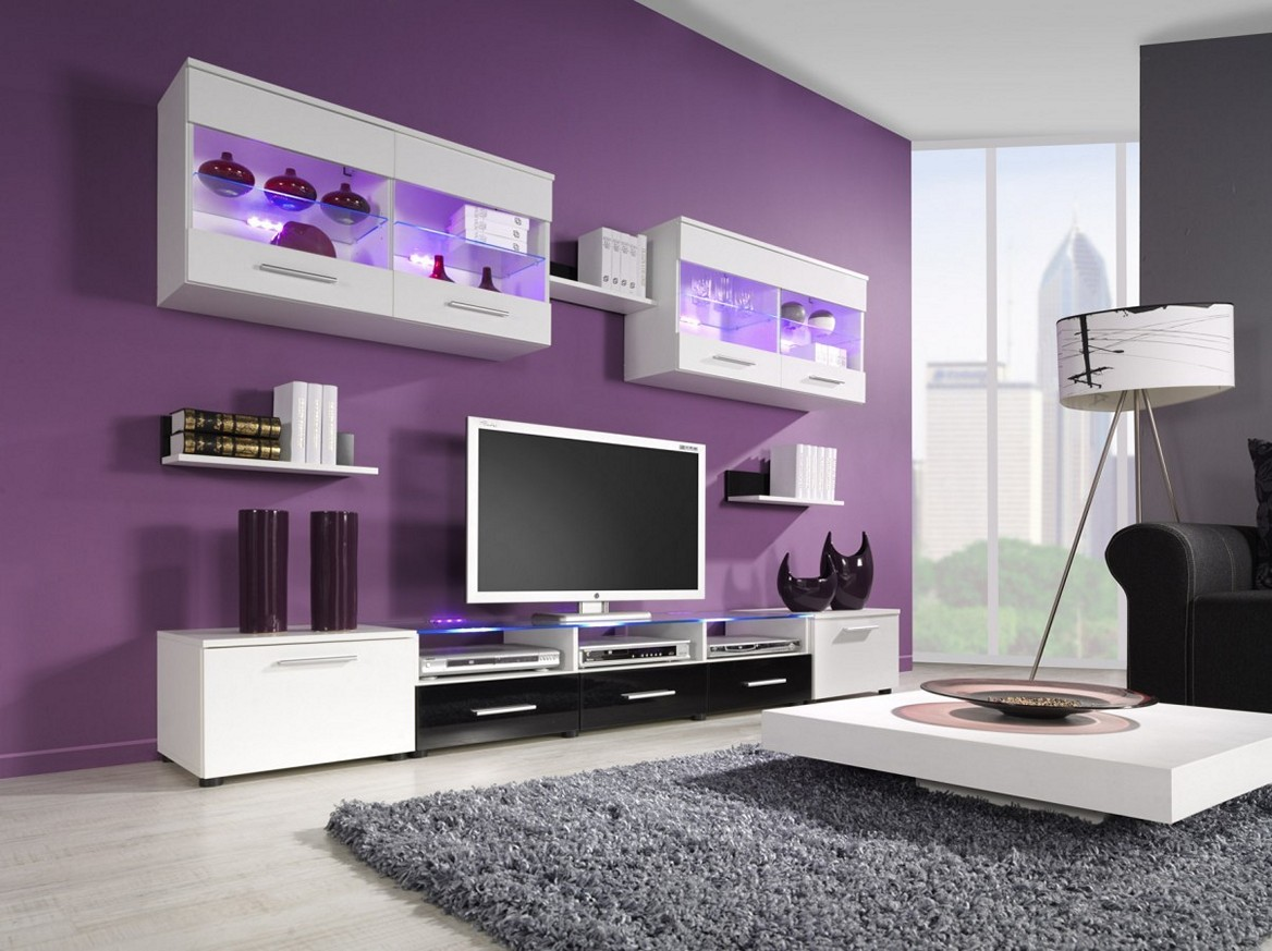 Purple Decorating Living Rooms How Do Decor Colors Affect Our Emotions