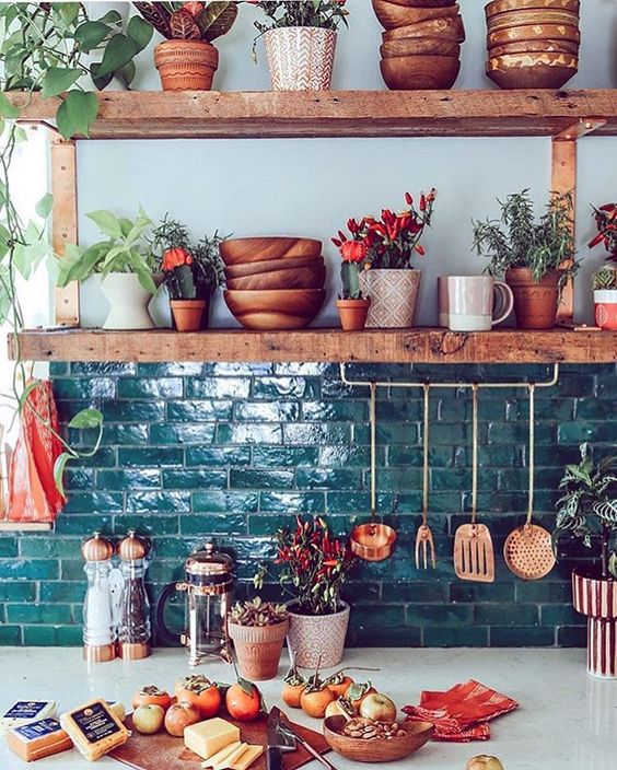 Dreamy Boho Kitchens You Have To See To Believe