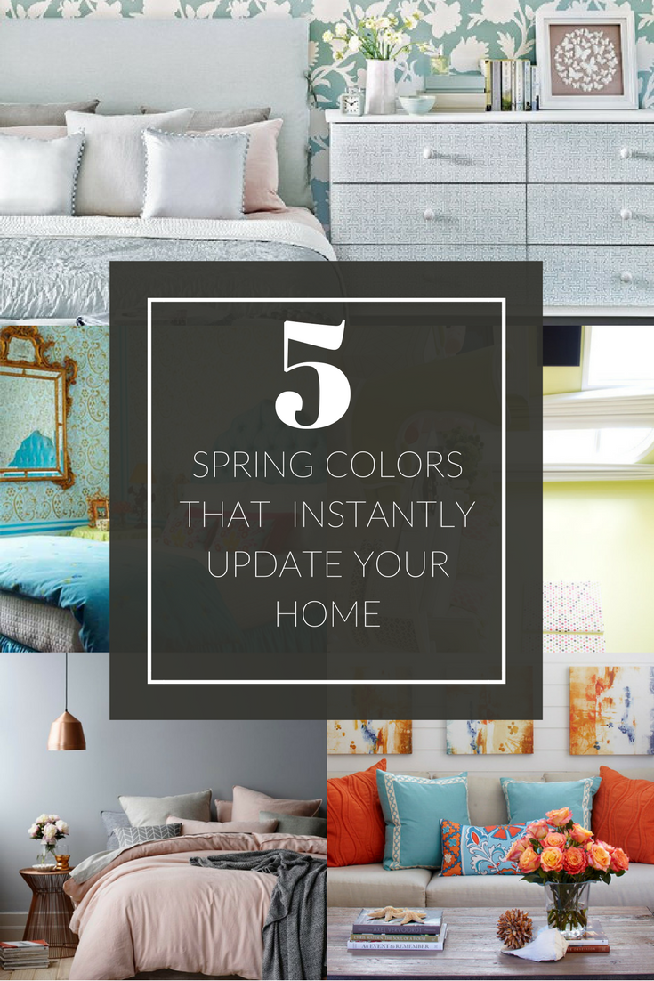 5 Spring Trends From London Fashion Week: 5 Spring Colors To Instantly Update Your Home