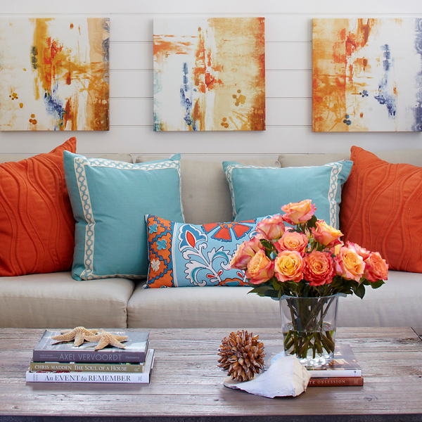 Orange Home Decor: 5 Spring Colors To Instantly Update Your Home