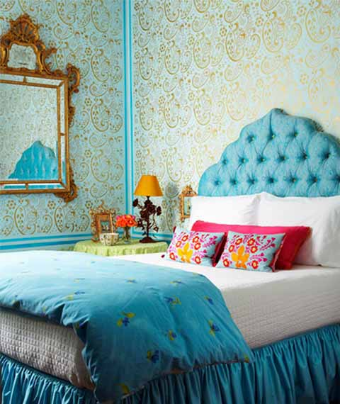 spring decorating bright room colors bedroom decor