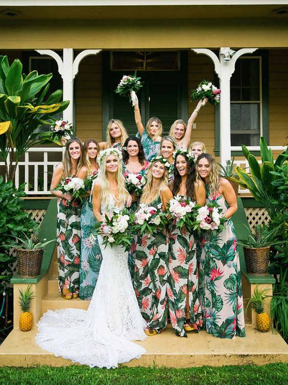 tropical-bridesmaid-dresses