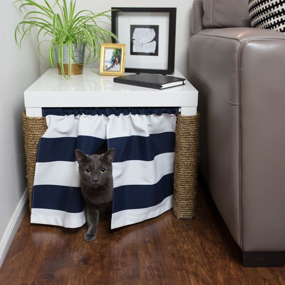 Home Decor Cat Owner Hack Hide Litterbox