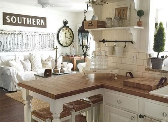 10 beautiful rustic farmhouse decor ideas for Home decoration images