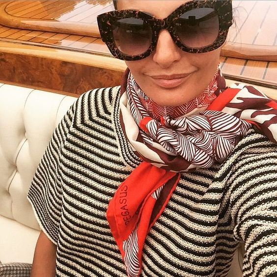 striped-top-and-printed-scarf