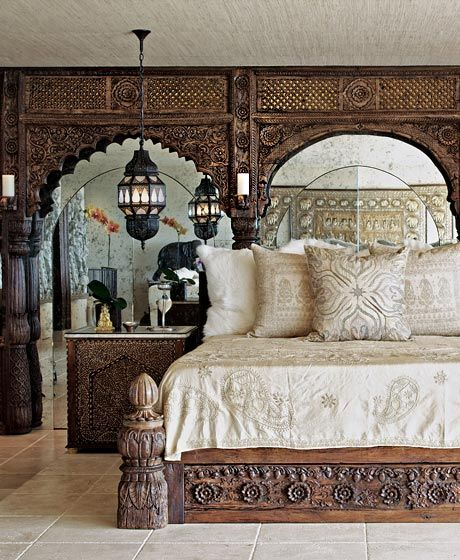 Traditional Moroccan Bedroom