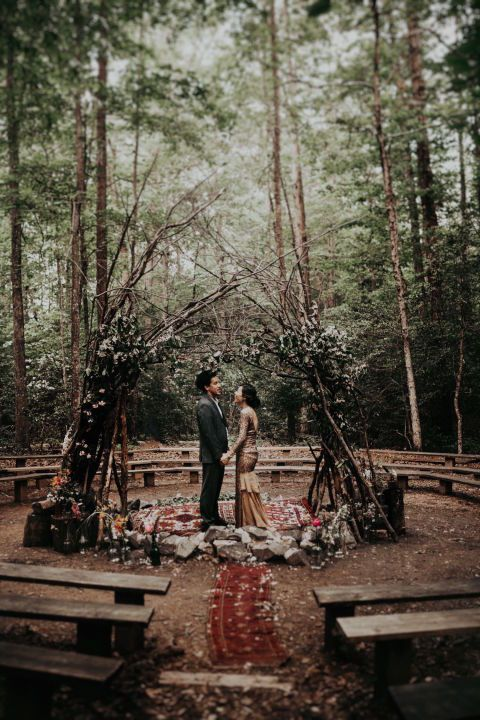 Dreamy Fairytale Fall Wedding Ideas