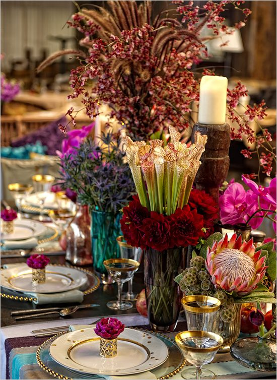 floral-indian-inspired-wedding-table