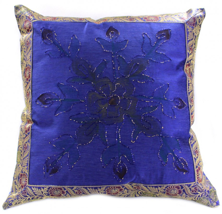 Hand painted deluxe floral accent pillow cover set of 2 for Hand painted pillows