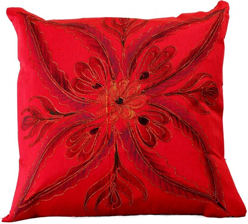 Vibrant Floral Throw Pillow Covers, 18
