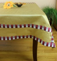 Hand Embroidered Rectangular Tablecloth Banarsi Designs