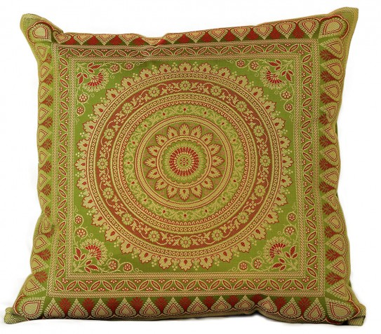 Exotic Oriental Indian Pillow Cover, Set of 2 Banarsi Designs