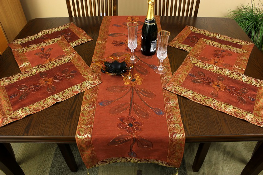 Table Runners And Placemats Sets Placemat Table Runner