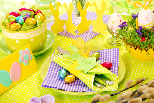 5 Spring Table Decorating Ideas