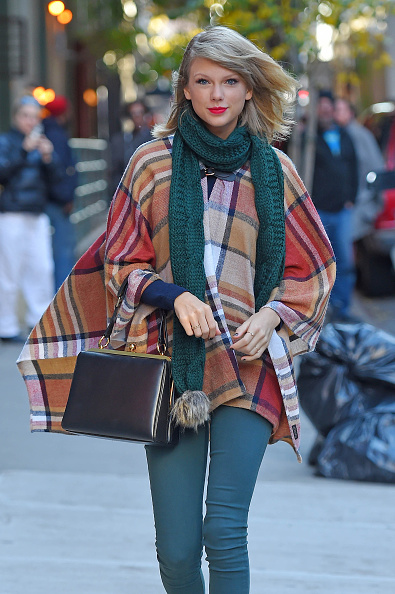 NEW YORK, NY - NOVEMBER 14: Singer Taylor Swift is seen on November 14, 2014 in New York City. (Photo by NCP/Star Max/GC Images)