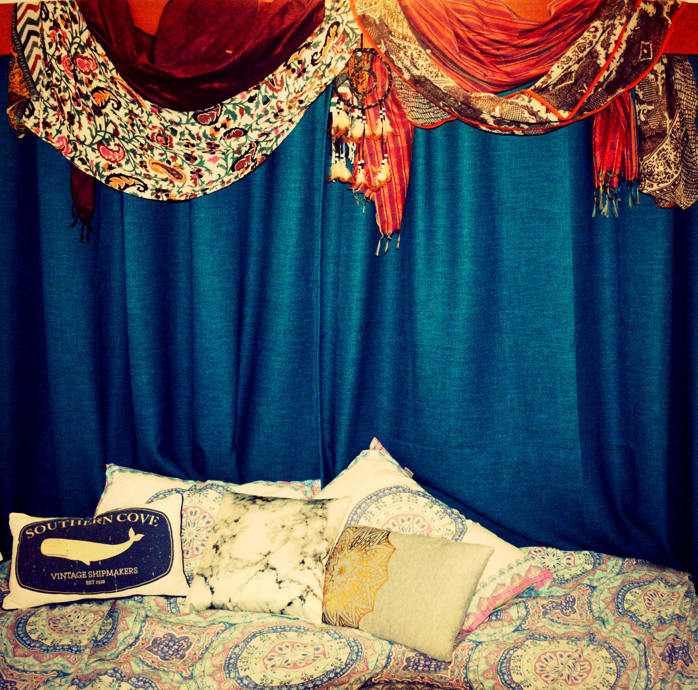 9 Diy Boho Bedroom Hacks Using Scarves