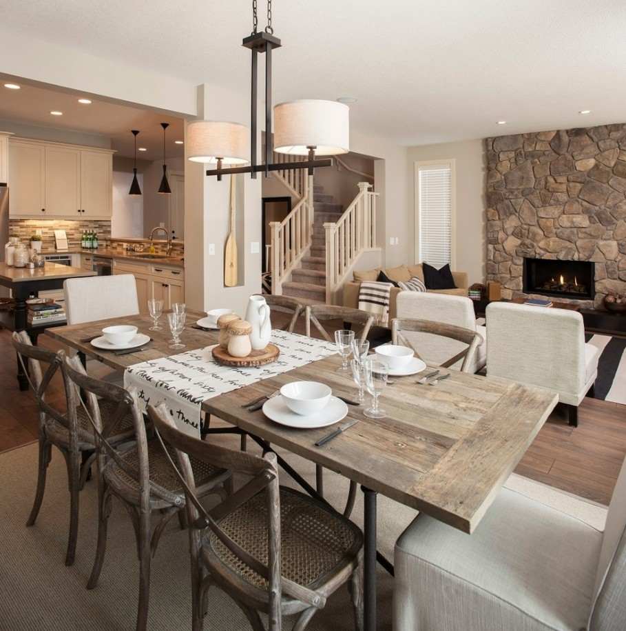Rustic Dining Room Decor: Rustic Home Decor: The Fail-safe Guide