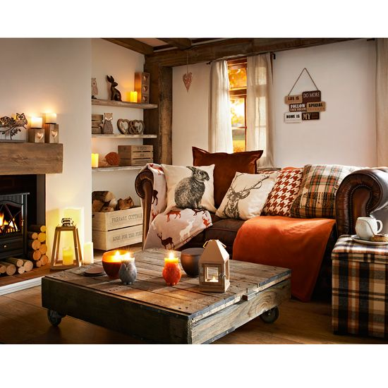 highland themed living room 10 european homes we 12942