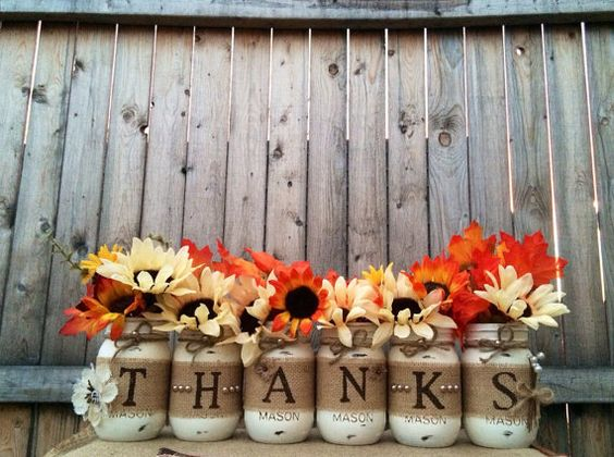 10 easy thanksgiving decor ideas - Thanksgiving decorations ...