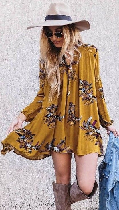 boho-floral-fall-outfit