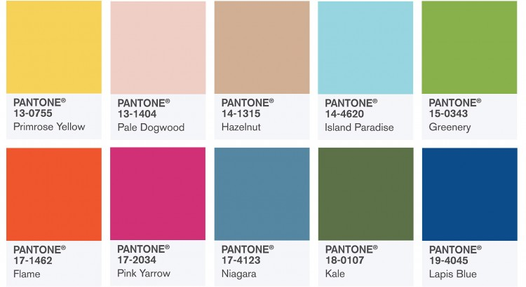 Pantone Color Of The Year 2017 Greenery