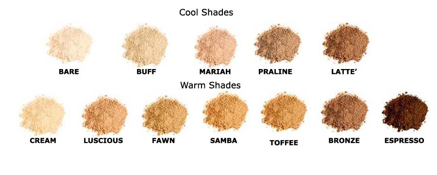 foundation-shades