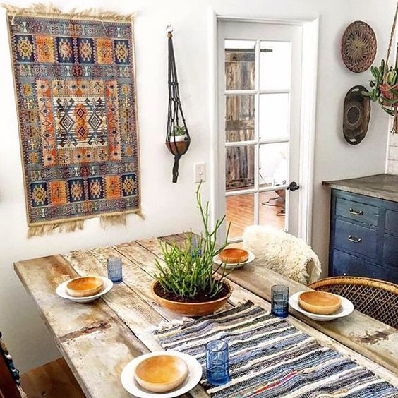 Boho Dining Table