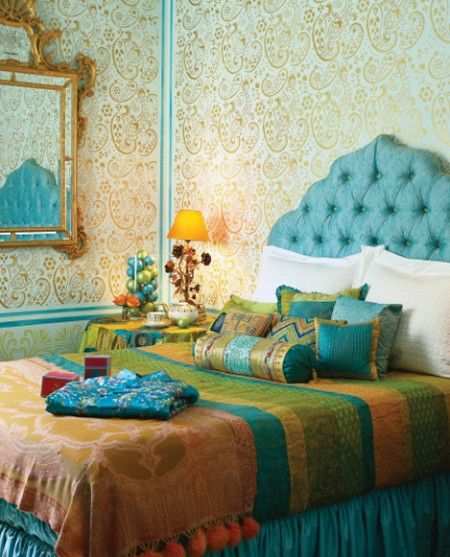 7 Beautiful Indian Inspired Bedrooms