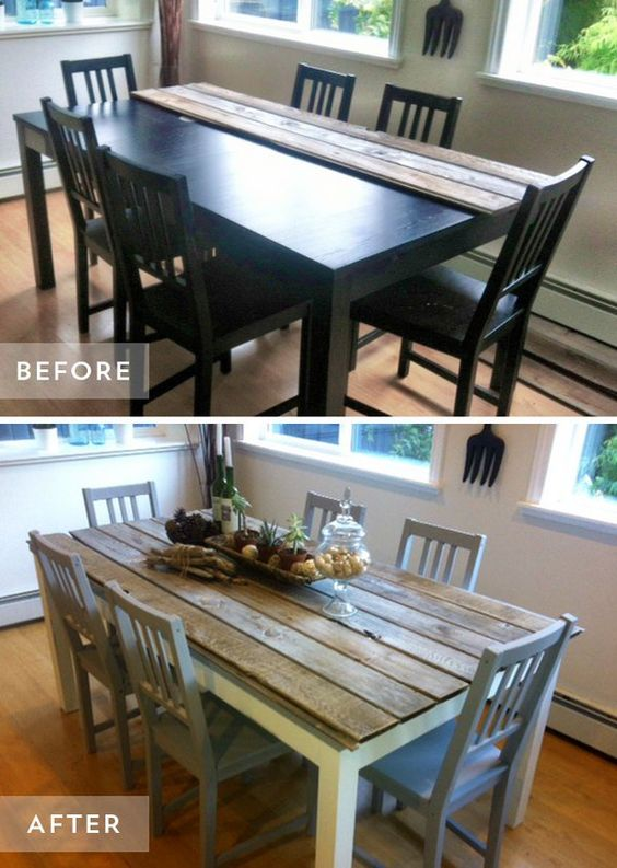 10 Ways To Makeover An Old Table