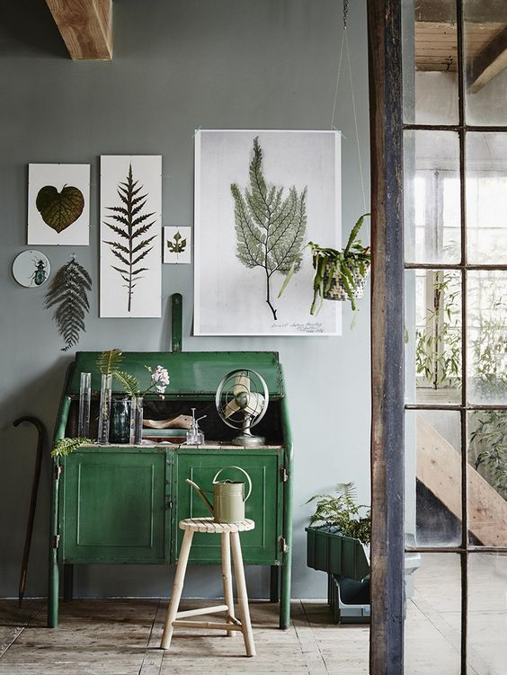 leaf-print-decor