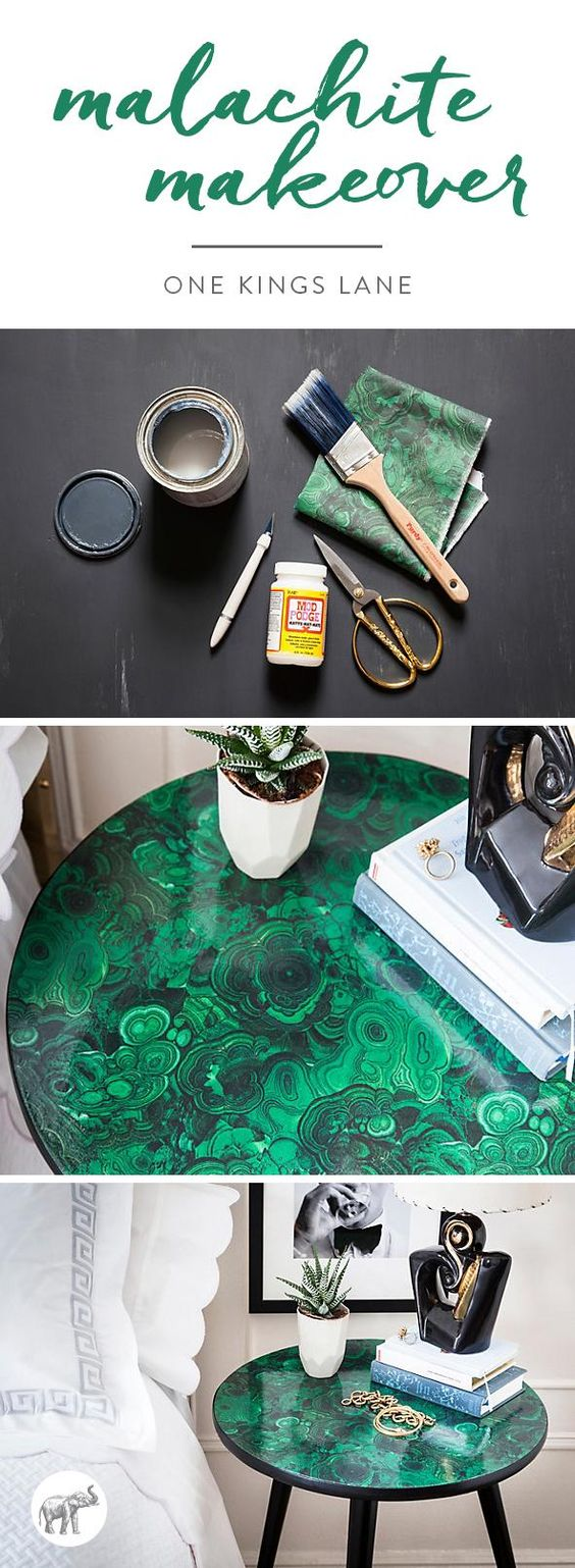 malachite-table